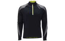 Zoot Men's Ultra WRKSnano THERMOcell 1/2 Zip black/volt